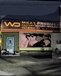 1999-2000 Night Scenes. Meat Products v2. Claude Breeze, Artist